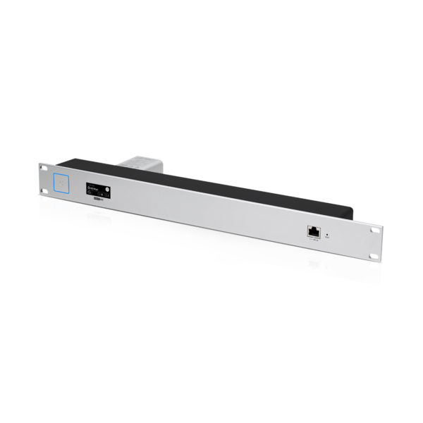 Ubiquiti Unifi Cloud Key Gen2 Rack Mount Front Angle With CKG2