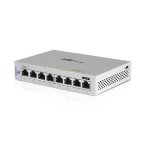 Ubiquiti Unifi Switch 8 poorten Gigabit Top Angle