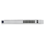 Ubiquiti Unifi Switch 16 poorten Gigabit POE Front Angle