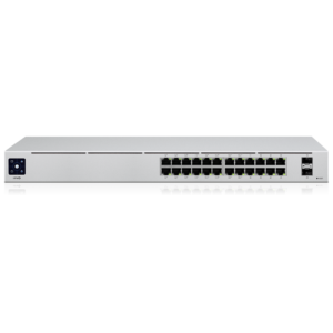 Ubiquiti Unifi Switch 24 poorten Gigabit POE Top Angle